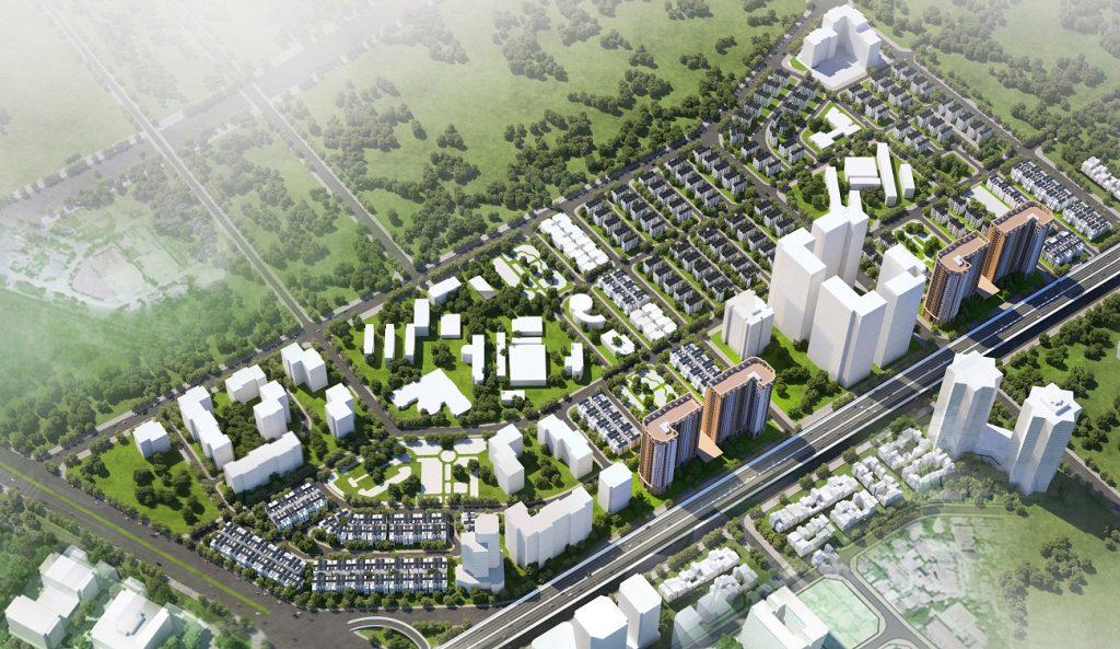 Tổng quan dự án nhà ở xã hội Tây Nam Kim Giang