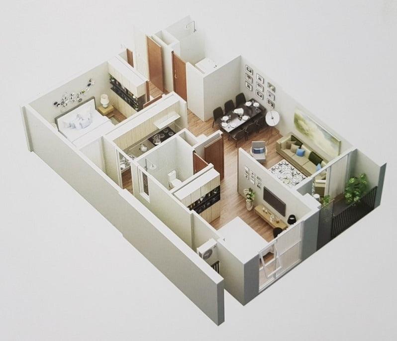 hình ảnh căn hộ mẫu
